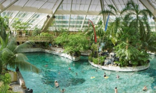 Aqua mundo center parcs de eemhof dagentree subtropisch