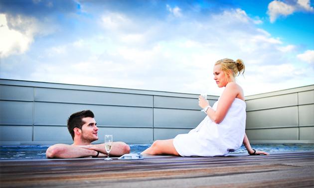 Aquadroom Sauna en Wellness