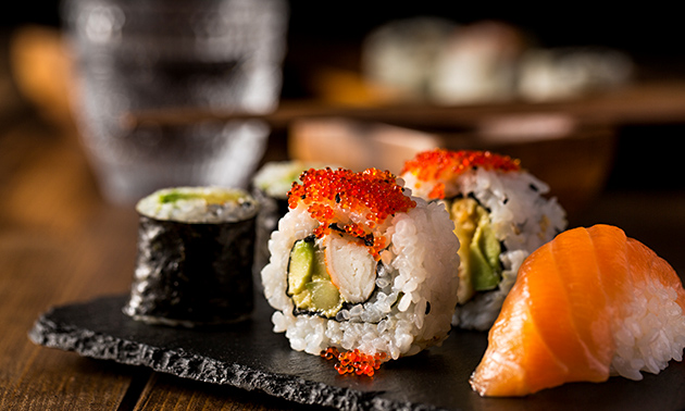 Asian Food & Sushi Restaurant Fusion