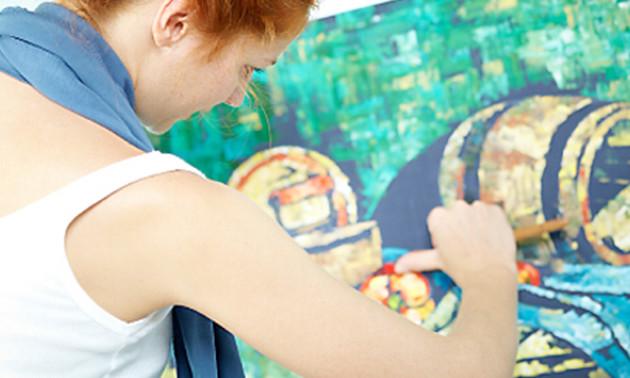 Atelier Leudal Workshop Schilderen Naar Keuze Bij Atelier Leudal