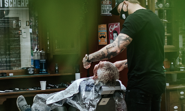 Barbierszaak Kei Scherp