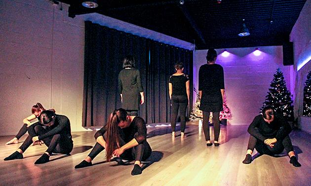Dance Studio On Fire