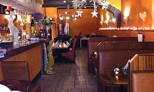 Grieks Restaurant Olympia, 3-gangen keuzediner bij Olympia
