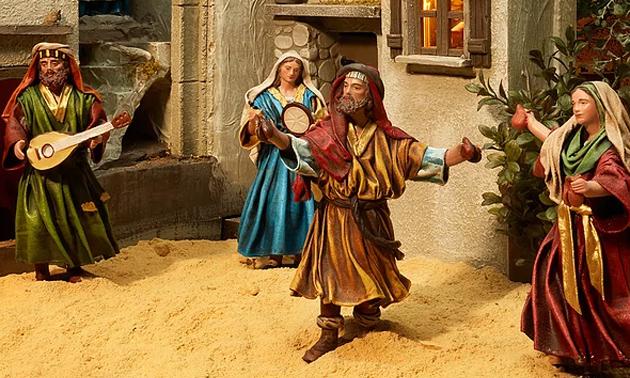 Kerstminiaturen in MergelRijk