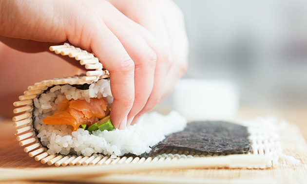 Luxe Sushi Box i.s.m. Tokyo Lounge Dodewaard