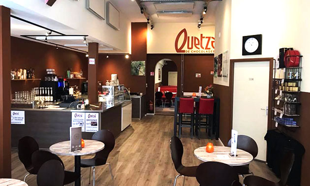 Quetzal Arnhem - chocoladebar