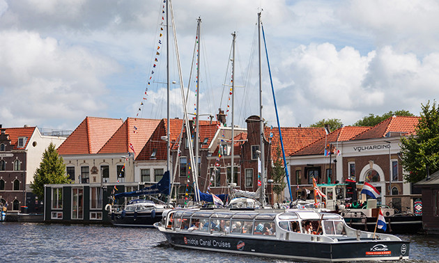 ´t Smidtje Canal Cruises Haarlem