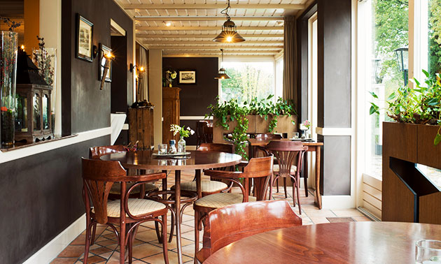 restaurant ´t edelhert, 3-gangen keuzediner: bespaar 50% in zwolle