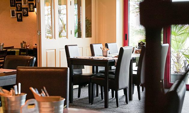 Restaurant tussen Harrie & Toon