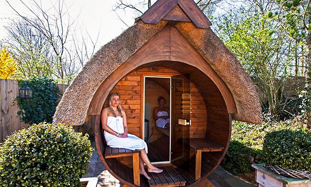 Sauna en Beautyresort de Leliehof