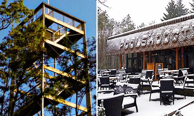 Terras Restaurant Poolshoogte
