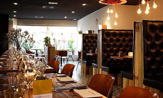 Color Kitchen Utrecht.The Colour Kitchen Oudegracht 3 Gangen Keuzediner Bij The Colour