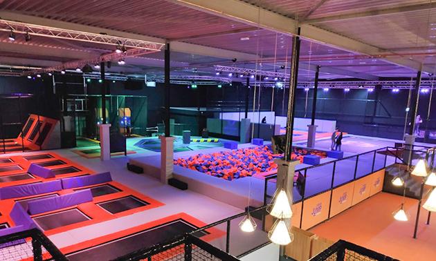 Urban Jump & Playground   Indoor trampoline park
