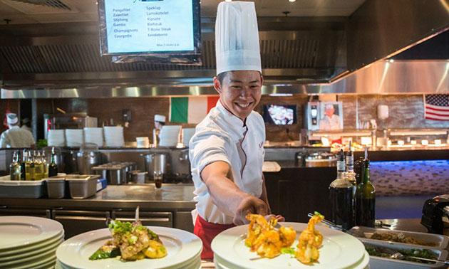 wereldrestaurant atlantis, all-in diner inclusief onbeperkt drank (3