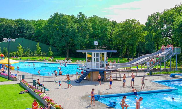 Beekse Bergen Zwembad.Zwembad De Vijf Heuvels Entree Zwembad De Vijf Heuvels Bespaar 50