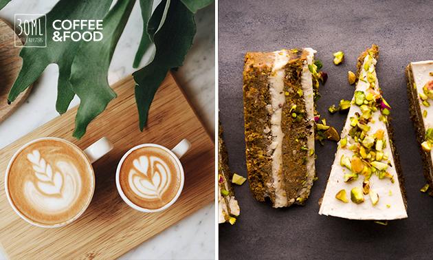 Afhalen: koffie/thee + taartje