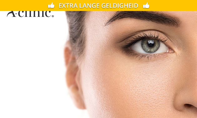 Henna brows of permanente make-up voor wenkbrauwen