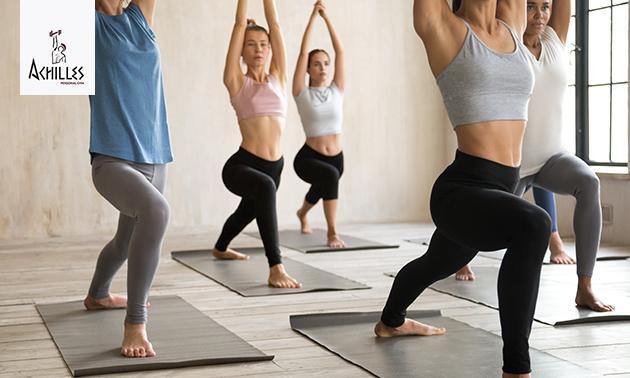 8x Vinyasa yogalessen (60 min)