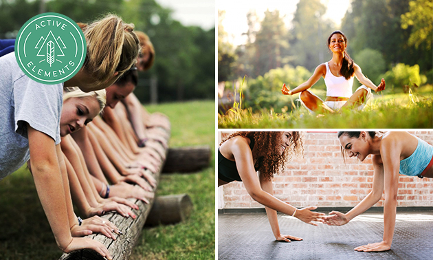 5 lessen yoga, bootcamp of small group training