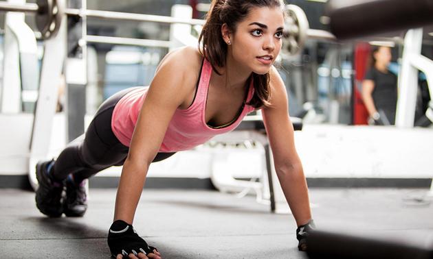 1 of 3 maanden onbeperkt fitness en groepslessen