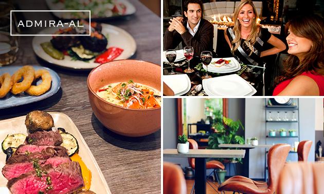 Afhalen: shared dining-diner bij Admira-al