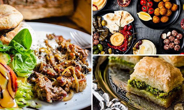 Thuisbezorgd of afhalen: Syrisch 7-gangen shared dining