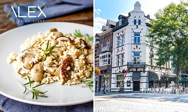 3-gangen shared dining in hartje Maastricht