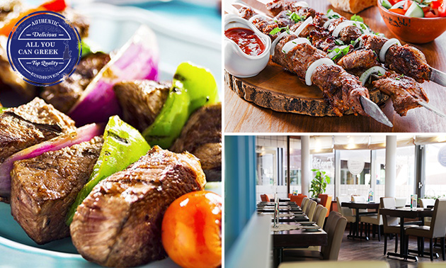 All-You-Can-Eat & Drink (3 uur) bij All You Can Greek