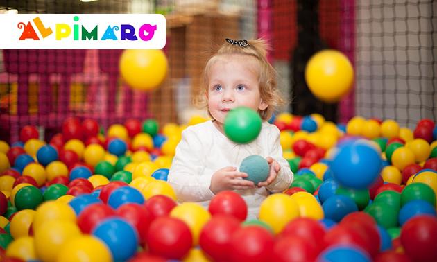 Eintritt für den Indoor Spielplatz Alpimaro