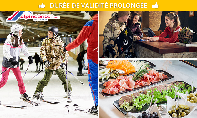 Une journée de ski + buffet & boissons à volonté chez Bottrop