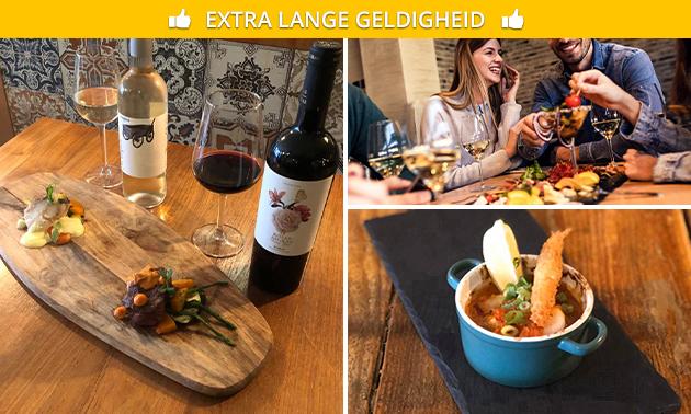 Thuisbezorgd of afhalen: 2- of 3-gangen shared dining