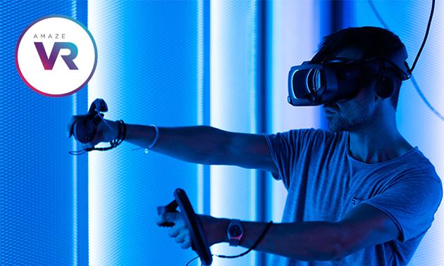 VR-lasergame (30 of 60 min)