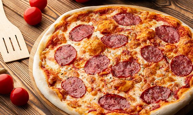 Afhalen: pizza (25+ keuzes) + drankje naar keuze