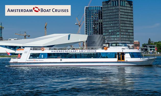 Amsterdam Skyline Cruise over het IJ (75 min)