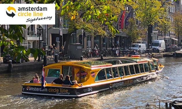 Rondvaart door Amsterdam (1,5 of 24 uur)