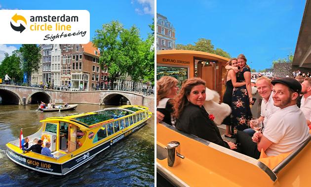 Rondvaart door Amsterdam (75 min)