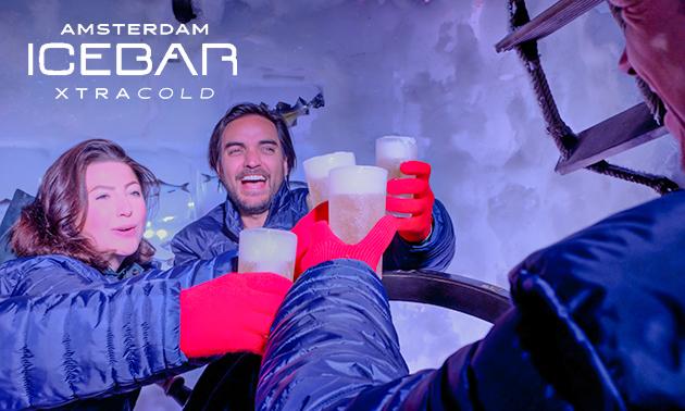 Entree Amsterdam Icebar (45 min) + 3 drankjes