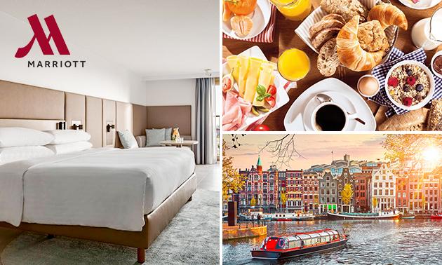 5-sterrenovernachting(en) voor 2 of 4 + ontbijt in Amsterdam