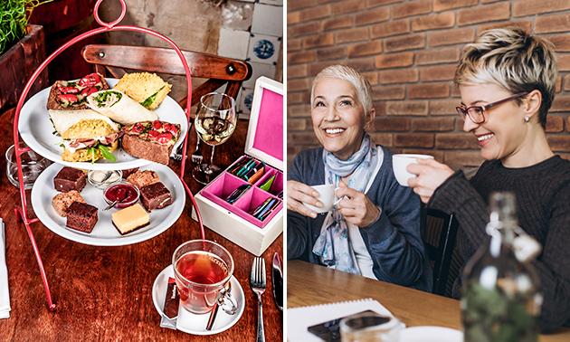 Luxe high tea + bubbels bij Angie´s Kitchen