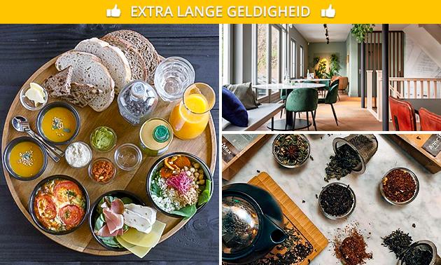 Lunchplank + drankje bij Anne&Max