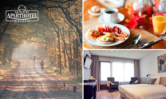 Voor 2 personen: overnachting + ontbijt nabij Hengelo