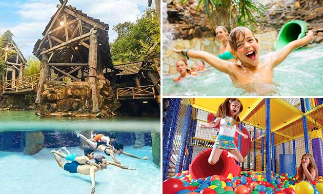 Entree Aqua Mundo + speelpark BALUBA