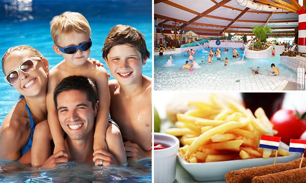 Entree zwemparadijs + evt. friet en snack