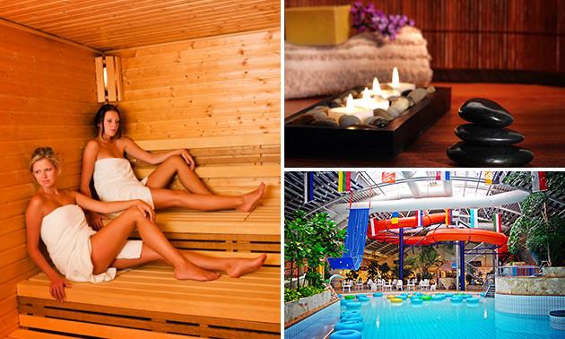 Entree sauna's en zwemparadijs