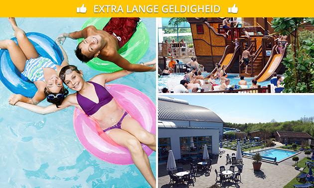 Dagkaart voor zwemparadijs Aquana