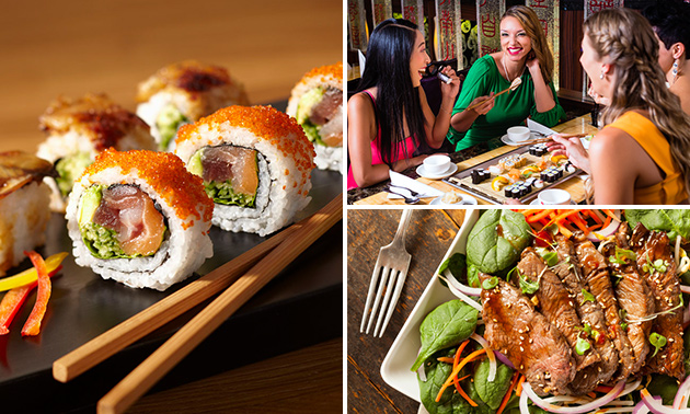 All-You-Can-Eat sushi & grill (3 uur) bij Arigato