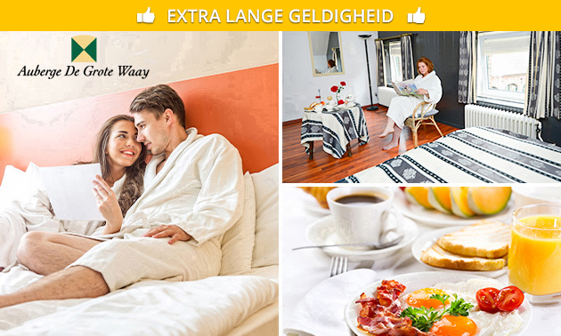 Overnachting(en) + ontbijt voor 2 in Noord-Limburg