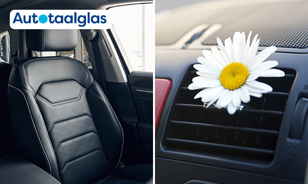 Interieur- en aircoreiniging van je auto + ruitenreiniger