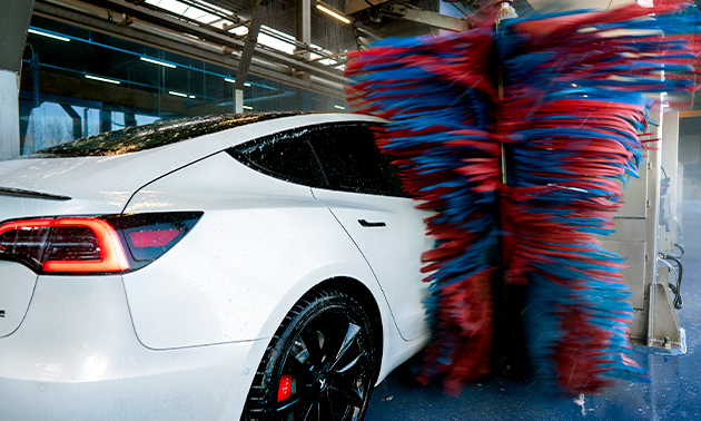 Poetswasprogramma voor je auto
