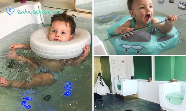 Floaten voor baby's (60 min)